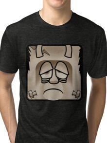 Frankenstein's Monster - Sepia Tri-blend T-Shirt