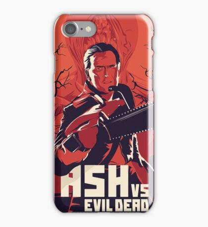 ash will kill you  iPhone Case/Skin