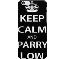 LOW PARRY iPhone Case/Skin