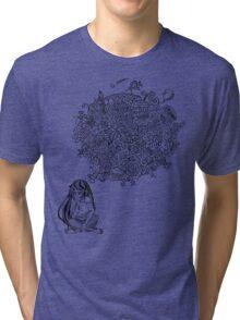 Overthinking Girl Tri-blend T-Shirt