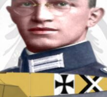 Leutnant Kurt Wintgens Sticker