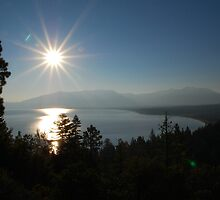 Sunrise at Lake Tahoe by Jared Manninen