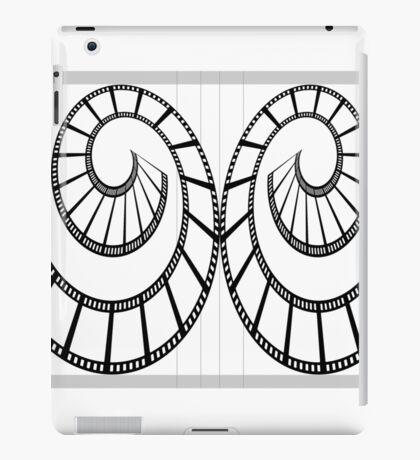 Film swirls.  iPad Case/Skin