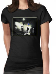 The Exorcist WITH BALLOONS! Womens Fitted T-Shirt