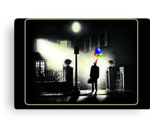 The Exorcist WITH BALLOONS! Canvas Print