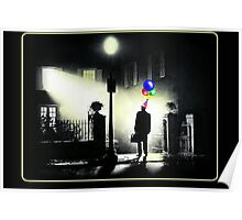 The Exorcist WITH BALLOONS! Poster