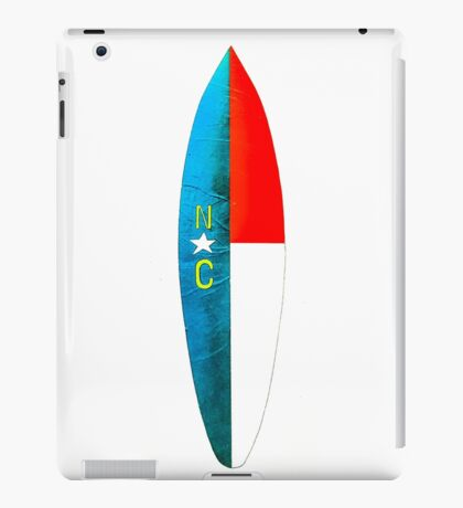 Carolina surfboard iPad Case/Skin