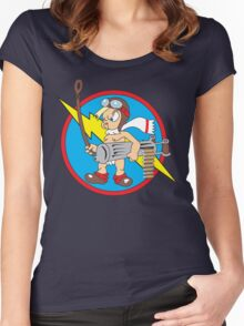 352d Fighter Group Emblem Women's Fitted Scoop T-Shirt