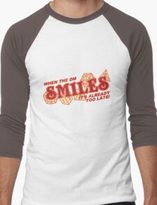 When the DM Smiles Men's Baseball ¾ T-Shirt