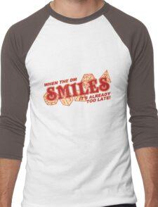 When the DM Smiles Men's Baseball ¾ T-Shirt