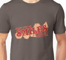 When the DM Smiles Unisex T-Shirt