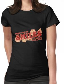 When the DM Smiles Womens Fitted T-Shirt