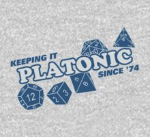 Platonic Love Since 74 Kids Tee
