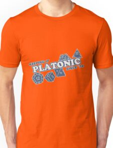 Platonic Love Since 74 Unisex T-Shirt
