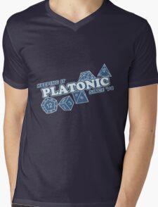 Platonic Love Since 74 Mens V-Neck T-Shirt