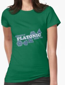 Platonic Love Since 74 Womens Fitted T-Shirt