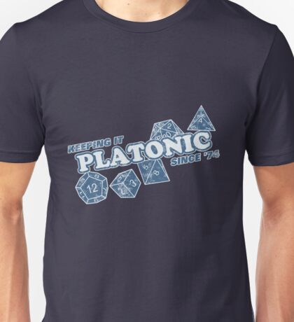 Favorite Platonic Love Since 74 Faded Unisex T-Shirt