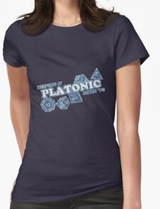 Favorite Platonic Love Since 74 Faded Womens Fitted T-Shirt