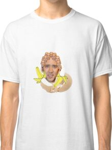 Nicolas Cage Egg Collage  Classic T-Shirt