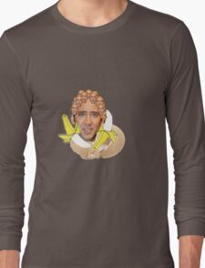 Nicolas Cage Egg Collage  Long Sleeve T-Shirt