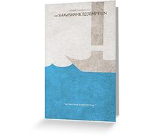 The Shawshank Redemption Greeting Card