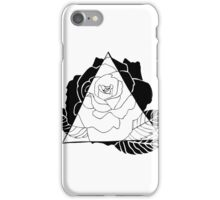 Geometric Rose iPhone Case/Skin