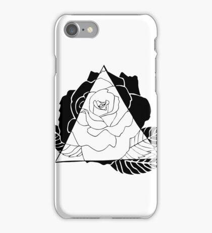 Geometric Rose iPhone Case/Skin