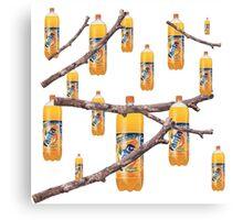 Fanta Stick Fantastic Collage Print Canvas Print