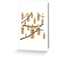 Fanta Stick Fantastic Collage Print Greeting Card