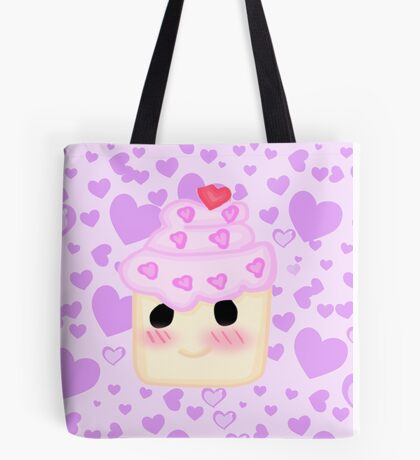 Kawaii Cupcake  Tote Bag