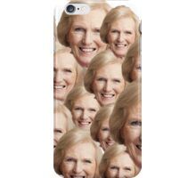 Mary Berry Print  iPhone Case/Skin