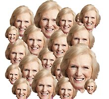 Mary Berry Print  Photographic Print