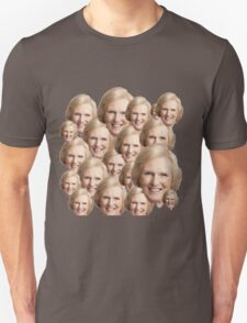 Mary Berry Print  Unisex T-Shirt