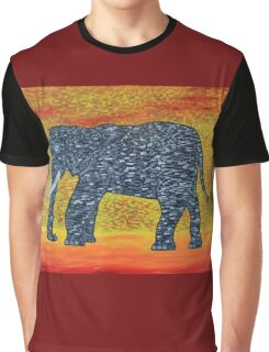 Jillba the Elephant Graphic T-Shirt