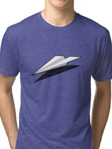 Paper Airplane 2 Tri-blend T-Shirt
