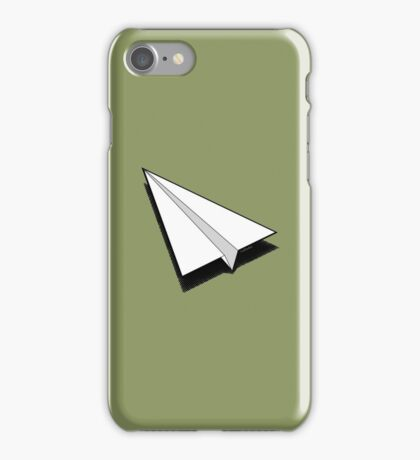 Paper Airplane 1 iPhone Case/Skin