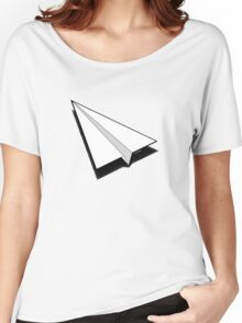 Paper Airplane 1 Women's Relaxed Fit T-Shirt