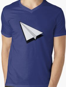Paper Airplane 1 Mens V-Neck T-Shirt
