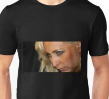 Blond Woman Strict Unisex T-Shirt