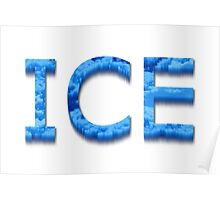 Ice Poster