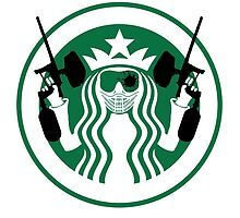 Starbucks Paintball Emblem by Paintballer
