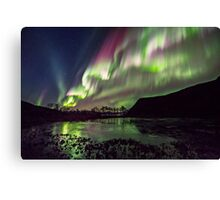 Rapid Auroras Canvas Print