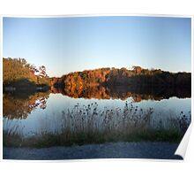 Autumn on Greenbelt Lake 7 Poster