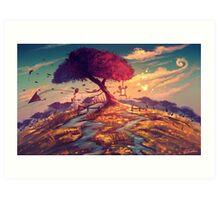 Sakura Tree Art Print