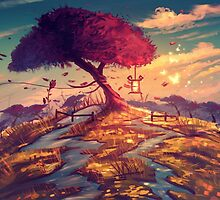 Sakura Tree by Frostwindz