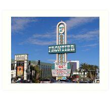 Frontier & Stardust Las Vegas Art Print