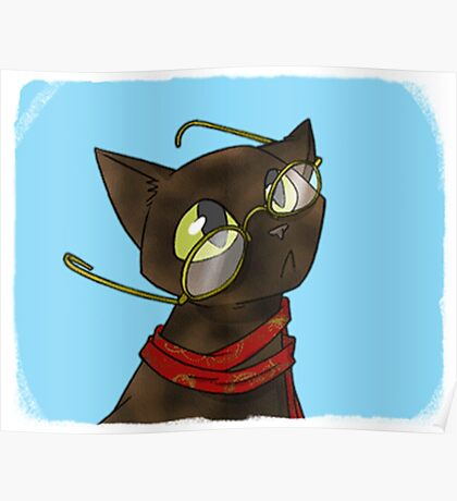 Chaos Life office cat 'Tortoiseshell' Poster