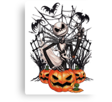 The Pumpkin King Canvas Print