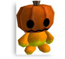 Pumpkin Head Chao Canvas Print