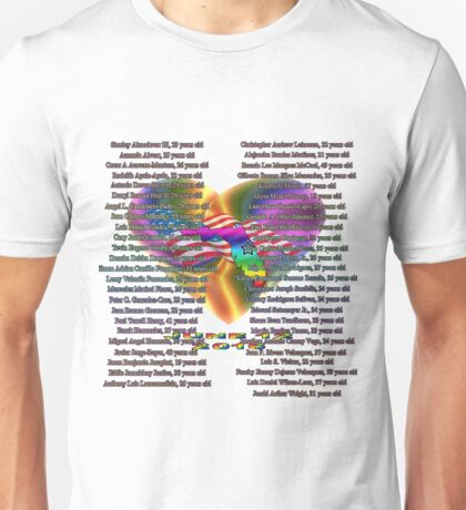 Orlando Pulse Remember Their Names Unisex T-Shirt